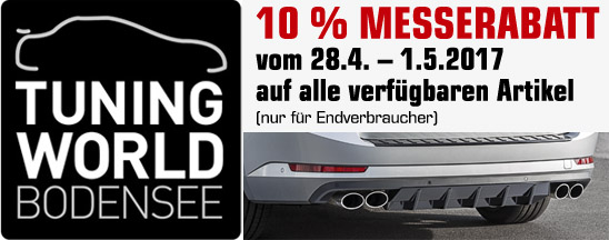 Messerabatt Tuning World Bodensee