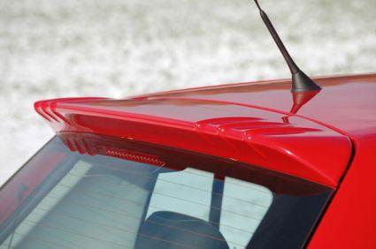 Milotec - Dachspoiler Air-Look, passend für Fabia II Limousine