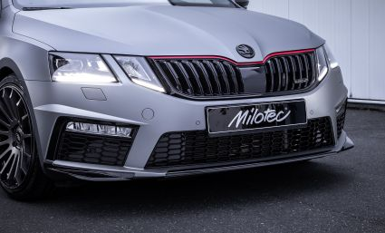 Milotec - Front spoiler lip and edges, Facelift