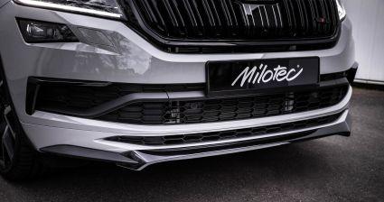 Milotec - Spoilerlippe, passend für Kodiaq RS/Sportline