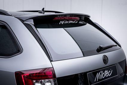 Milotec - Heckscheiben-Flaps, passend für Octavia III RS