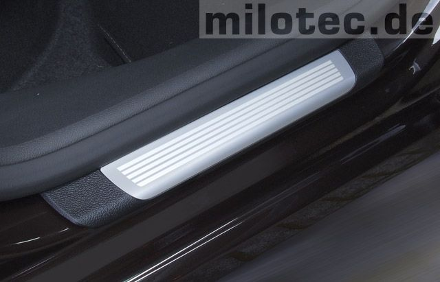 interieur running board protection for rear doors superb ii family