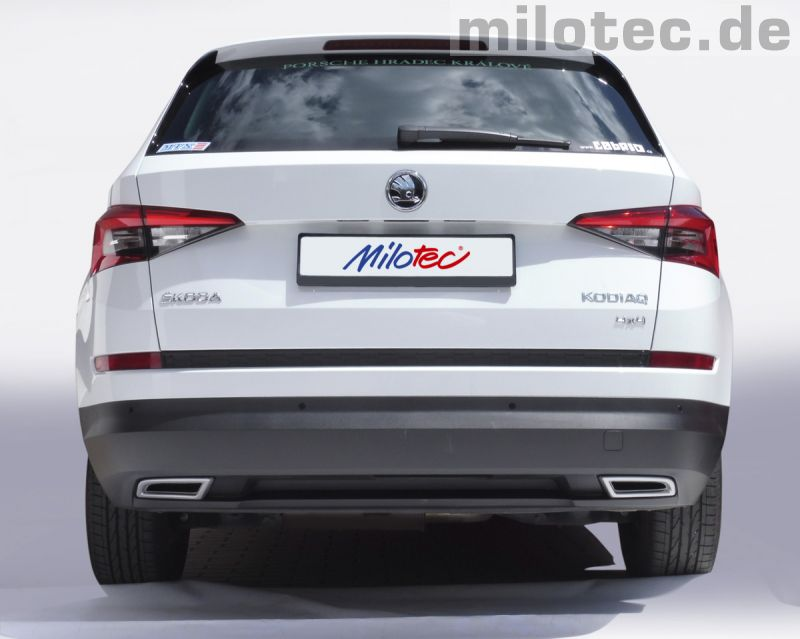 milotec auto extras gmbh skoda tuning und zubeh r exhaust. Black Bedroom Furniture Sets. Home Design Ideas