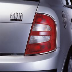 Stainless steel strips for tail lights