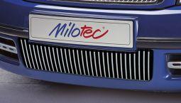Milotec -Designblenden für Stoßfänger, passend für Superb I -8/06