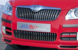 Milotec - Design-Blenden für Stoßfänger, passend für Fabia II/Roomster -3/10
