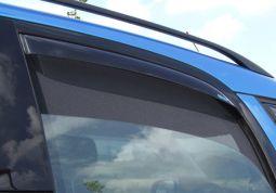 Windabweiser-Set für hintere Seitenfenster, passend für Roomster