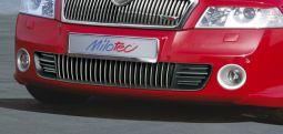 Milotec - Design-Blenden für RS Stoßfänger, passend für Octavia II RS