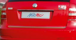 Milotec - Edelstahlblende für Heckklappe, Limousine