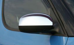 Milotec - Spiegelkappen, passend für Fabia II / Roomster - ABS verchromt