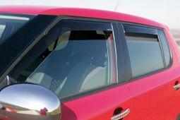 Windabweiser-Set für vordere Seitenfenster, passend für Fabia II