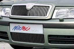 Milotec - Design-Blenden für Stoßfänger, passend für Octavia I