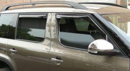 Windabweiser Set für vordere Seitenfenster, passend für Yeti