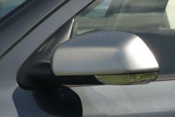 Milotec - Spiegelkappen, Edelstahl, matt, passend für Octavia II -11/08