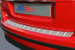 Milotec - Ladekantenschutz, passend für Fabia II Limousine, silber