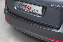 Milotec - Ladekantenschutz, passend für Fabia I Combi, schwarz metallic