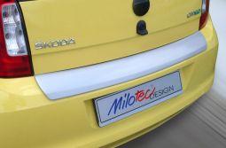 Milotec - Ladekantenschutz, ABS silber, passend für Citigo