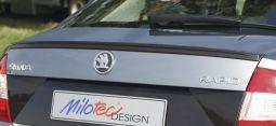 Milotec - Spoiler-Abrisskante, passend für Rapid Limousine