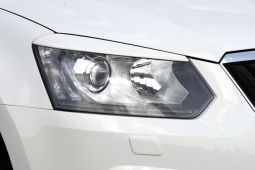Milotec - Scheinwerferblenden passend für Yeti Facelift