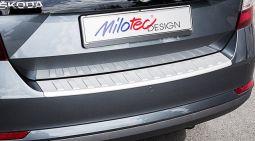 Milotec - Ladekantenschutz, passend für Rapid Spaceback, ABS silber