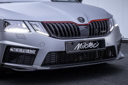 Milotec - Racing Streifen, passend für Octavia III - Facelift