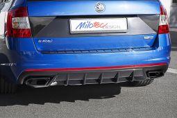 Milotec - Diffusor - schwarz Klavierlack, passend für Octavia III RS