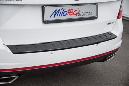 Milotec - Loading edge protection for Octavia III RS Combi, ABS piano black