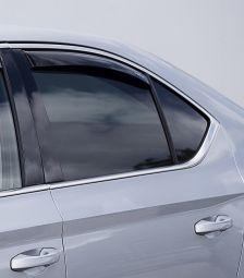 Windabweiser für hintere Seitenfenster, passend für Superb III