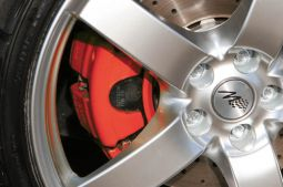 Brake caliper paint, RS red
