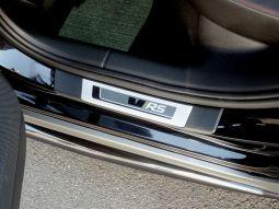 Hintere Einstiegleisten, passend für Octavia III RS - schwarz