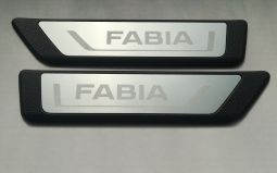 Hintere Einstiegleisten, passend für Fabia III