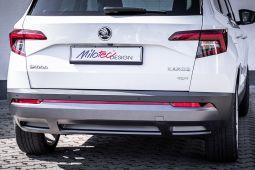 Milotec - Rear bumper cover - red, for Karoq