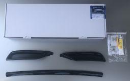 Milotec - Auspuff-Dummies, passend für Octavia IV - schwarz