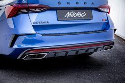 Milotec Luftauslassblenden - passend für Octavia IV RS