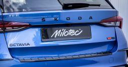Milotec Kofferraum-Griffleiste - passend für Octavia IV